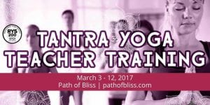 Join the Tantric Yoga Teacher Training by Path of Bliss | Events at Bridge Between the Worlds Retreat Center
